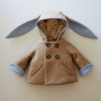 Little Rabbit Coat in Blue