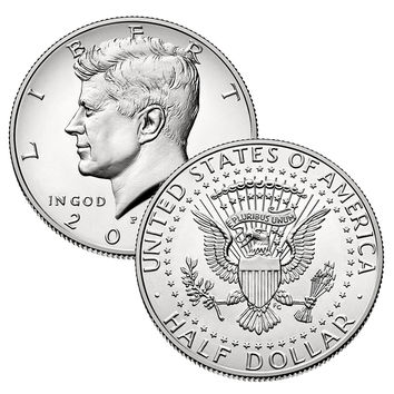 2015 P, D Kennedy Half Dollar 2 Coin Set Uncirculated