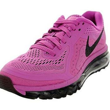 Nike Women's Wmns Air Max 2014, RED VIOLET/BLACK-PINK GLOW-LT ARCTC PN