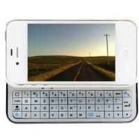 Amazon.com: iMounTek Apple iPhone 4 Sliding Bluetooth Hardshell Keyboard Case(white): Cell Phones & Accessories