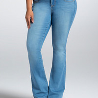 Torrid Flared Jeans - Light Wash (Short)