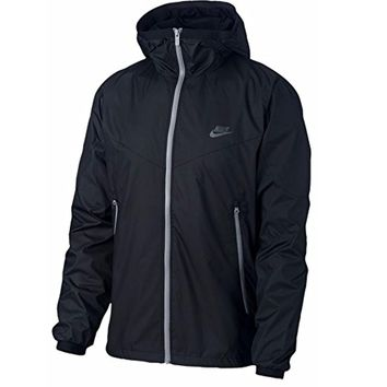 Nike Men's Sportswear Windrunner Jacket 917809-010 Black/Black X-Large