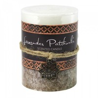 Lavender Patchouli Pillar Candle 3x4