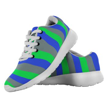 Alien Stripes Made to Order Lightweight Running Shoes