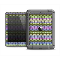 The Colorful Knit Pattern Apple iPad Air LifeProof Fre Case Skin Set