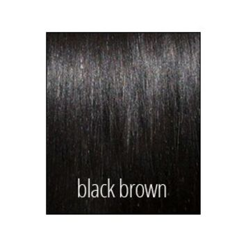 Princess Ponytail - Black Brown - Color 1b - Luxury For Princess - Clip-In Hair Extensions