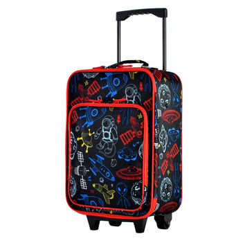 """Playday Collection 19"""" Carry-On Luggage In Space"""