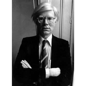 Andy Warhol Art Poster Bw 16inx24in