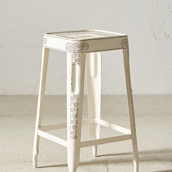 Painted Industrial Stool | Urban Outfitters