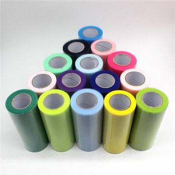 Tulle Roll 15cm 25Yards Roll Fabric Spool Tutu Party Birthday Gift Wrap Wedding Decoration Party Favors Event Supplies