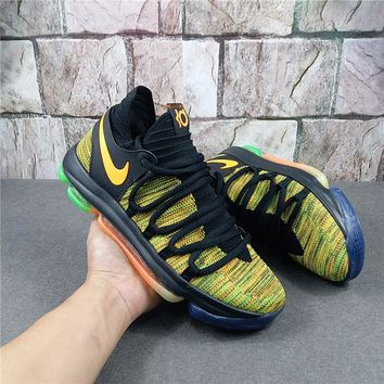 Nike Zoom KD10 'Peach Jam' EYBL Basketball Shoes
