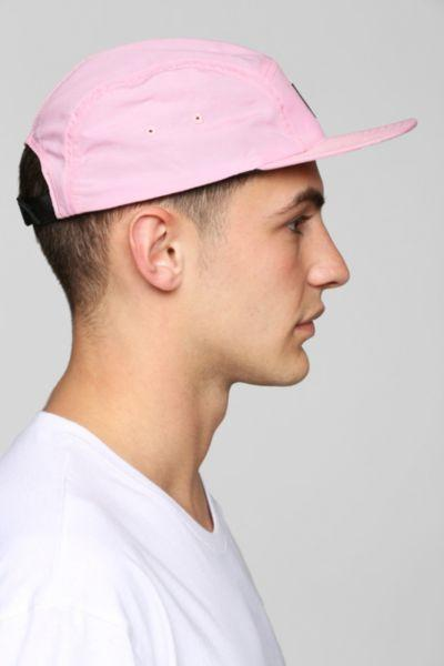 deda23519cf Stussy Nylon Neon 5-Panel Hat- Pink One from Urban Outfitters