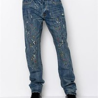 Syn Jeans Industrial Jeans - Syn Jeans Mens Apparel - Modnique.com
