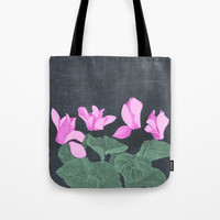 Cyclamen Tote Bag by anipani