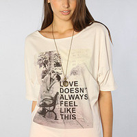 The Love Doesn't Blouse Tee