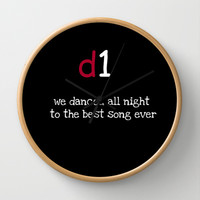 BEST SONG EVER Wall Clock by  Alexia Miles photography