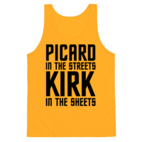 PICARD IN THE STREETS KIRK IN THE SHEETS