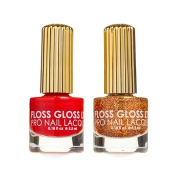 Floss Gloss Honey & Gangsta Boo Set of 2 Nail Lacquers | Nordstrom