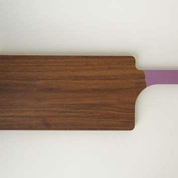 Large Walnut Wood Serving + Chopping Board
