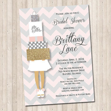 Bridal Shower Gifts Invitation