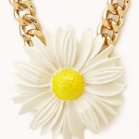 Darling Daisy Pendant Necklace