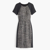 J.Crew Womens Italian Tweed Colorblock Dress