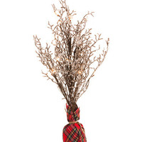 Holiday Home Tree Of Plaid Bag Base