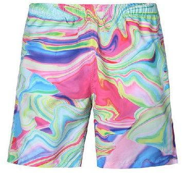 Psychedelic Board Shorts