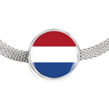 Dutch Pride - Luxury Charm Bracelet