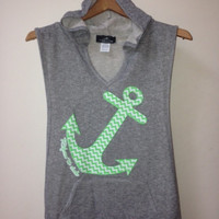 Refuse to Sink Hooded Pullover Vest