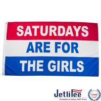 Jetlifee 3x5 Ft Saturdays Are For The Girls Flag by US Veteran Biz.