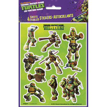 TMNT Stickers Sheets [4 Sheets]