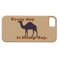 Camel Every Day is Hump Day iPhone 5 Cases