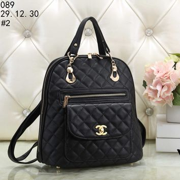 2018 trend fashion women's plaid casual crossbody bag shoulder bag #2
