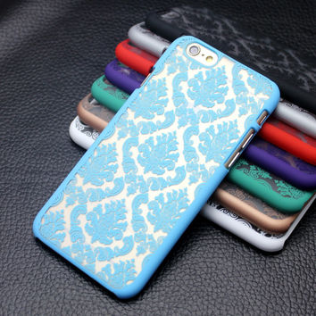 Vintage Multicolor Pattern Hard iPhone and Samsung  Cases