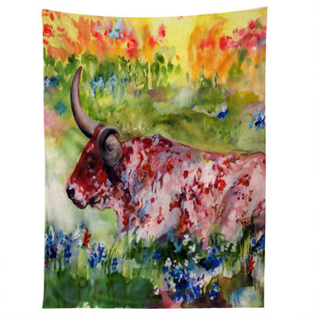 Ginette Fine Art Hill Country Texas Tapestry