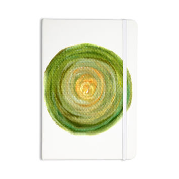 "Theresa Giolzetti ""Leeks"" Green White Everything Notebook"