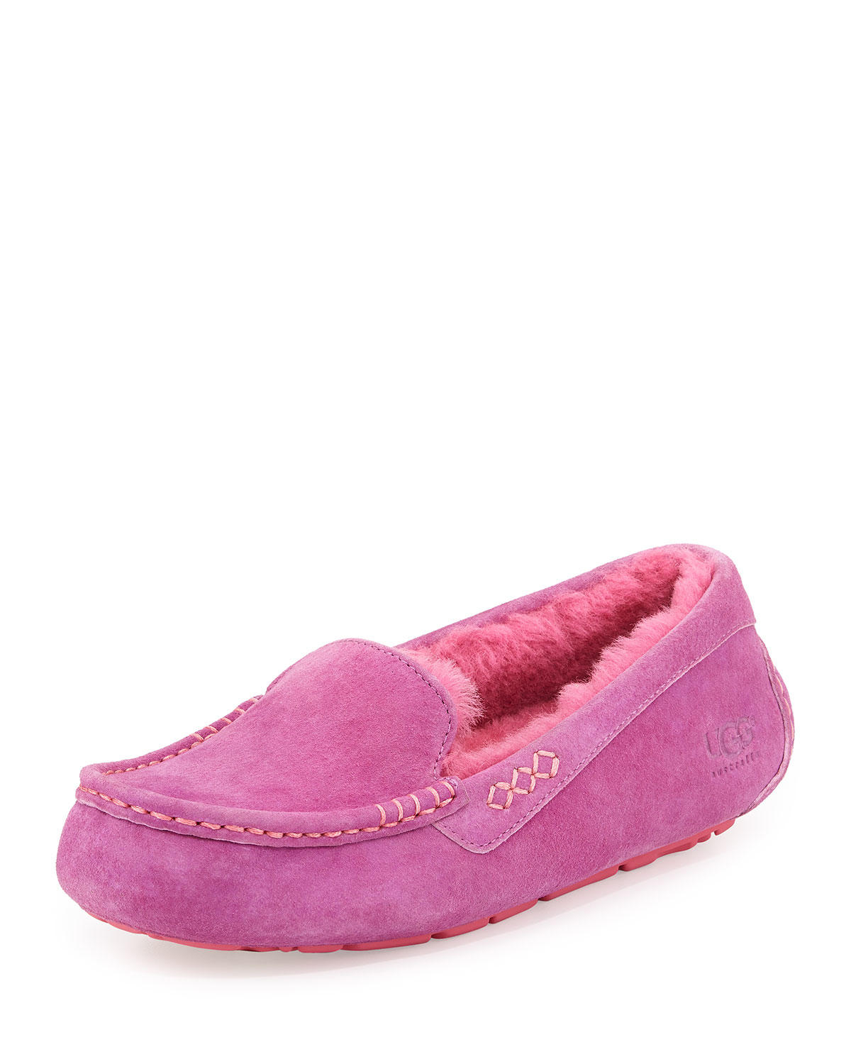ansley moccasin slipper pink from neiman marcus want
