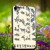 Avatar Water Scroll Bending - for iPhone 4/4s, iPhone 5/5s/5C, Samsung S3 i9300, Samsung S4 i9500 Hard Plastic Case