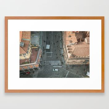 Above Via Rizzoli Framed Art Print by Errne