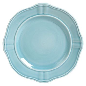 Threshold™ Wellsbridge Semi-Porcelain Salad Plate - Aqua