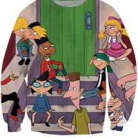 Arnold and Friends Crewneck Sweatshirt