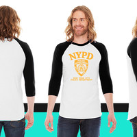 NYPD American Apparel Unisex 3/4 Sleeve T-Shirt
