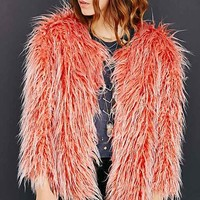 Ecote Molly Faux-Fur Coat-
