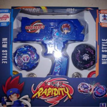 Beyblade metal fusion Beyblade spin top toy Plastic Beyblade Spinning Tops/Gyro Set Beyblade