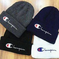 Day-First™ Champion Life Knit Pom Beanie
