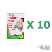 Fujifilm instax mini film Photo Paper 10 Packs