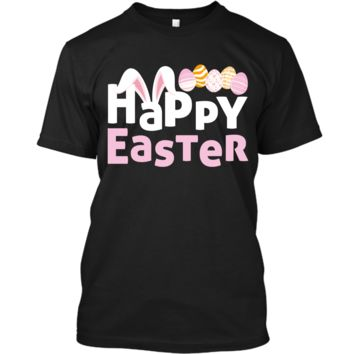 Easter Bunny Shirt For Boys Kids Girls Happy Easter Egg Hunt Custom Ultra Cotton