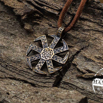 Perun Axe Necklace Slavic Amulet Sterling from VikingWorkshopcom