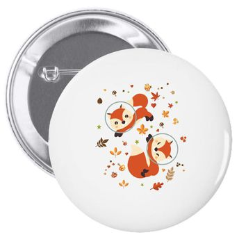 space fox Pin-back button